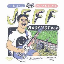 APRIL 8TH Jeff Rosenstock//Sunroom