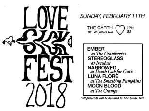 FEBRUARY 11TH Love Sick Fest