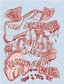 MAY 27TH The Obsessives // Sunday Clothes // Narrowed